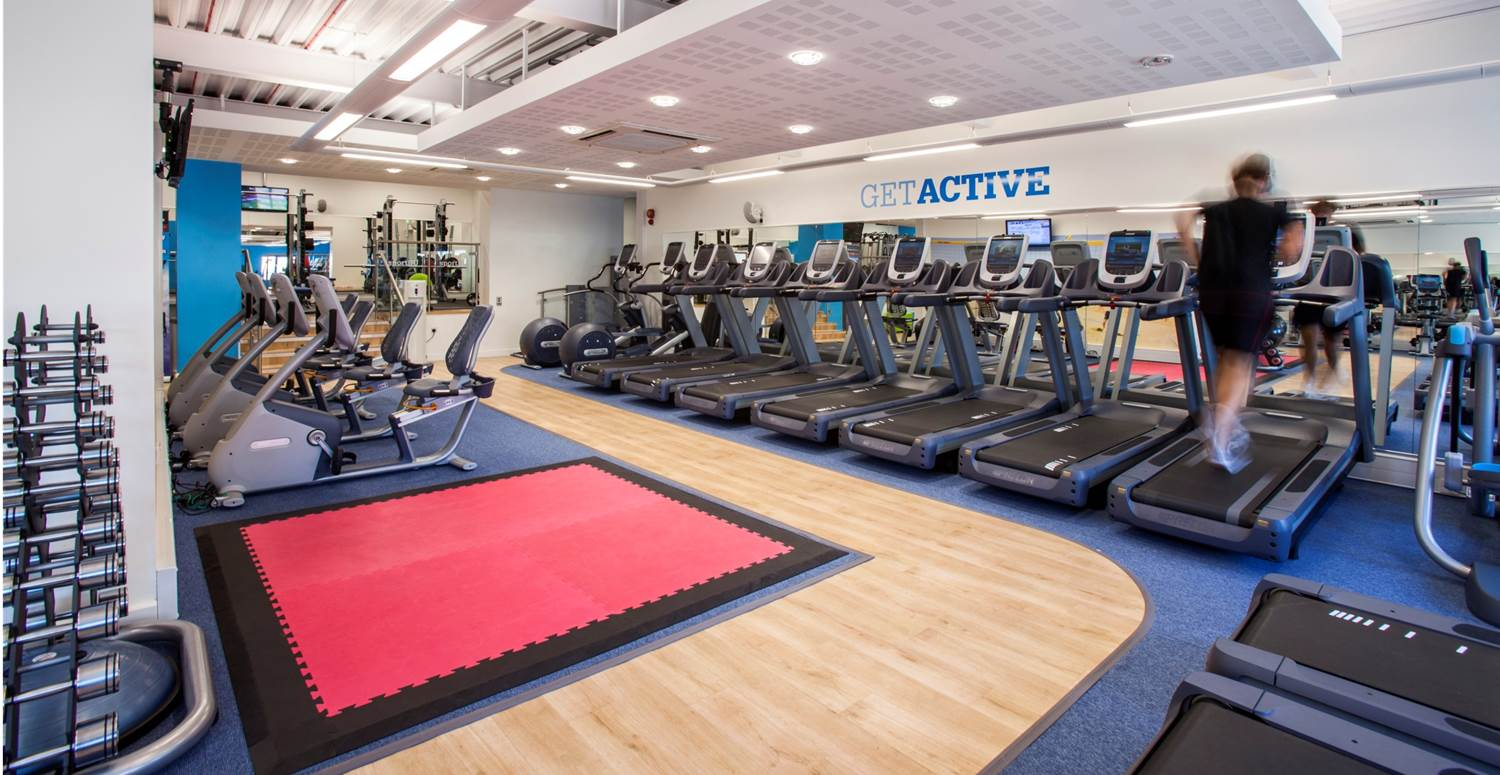 Check out the gym at our partner site